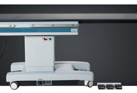 Стол операционный модель DST-IV c карбоновой рентгенпрозрачной столешницей для ангиографии